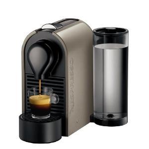 cafetiere nespresso u krups gris pur. Black Bedroom Furniture Sets. Home Design Ideas
